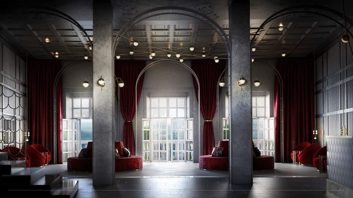 Zamek w Przegorzałach - nowy projekt od pracowni Ideograf