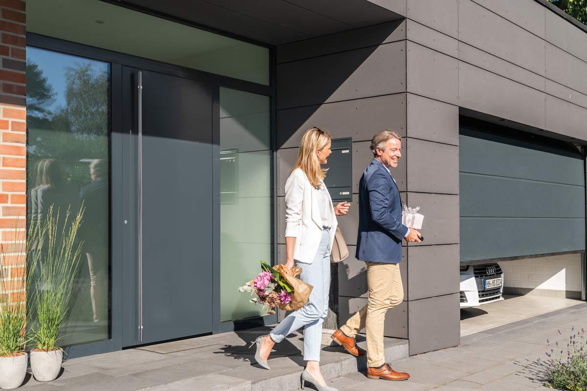 Nowy wymiar elegancji - Drzwi zewnętrzne ThermoPlan Hybrid firmy Hörmann
