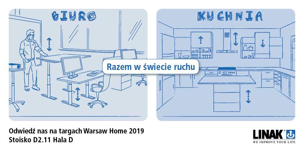 Razem w świecie ruchu - Warsaw Home 2019