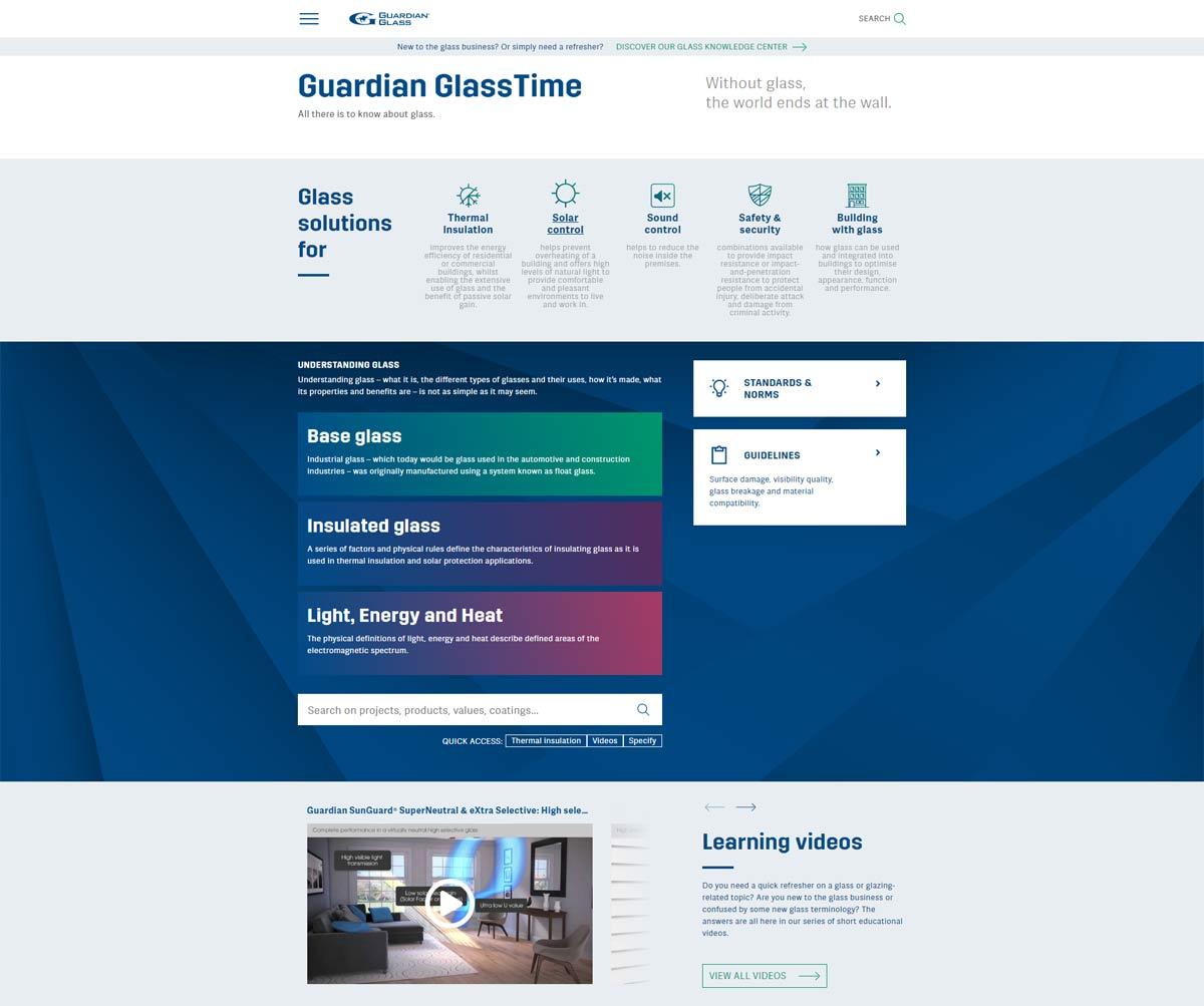 Guardian Glass uruchamia cyfrową wersję poradnika GlassTime