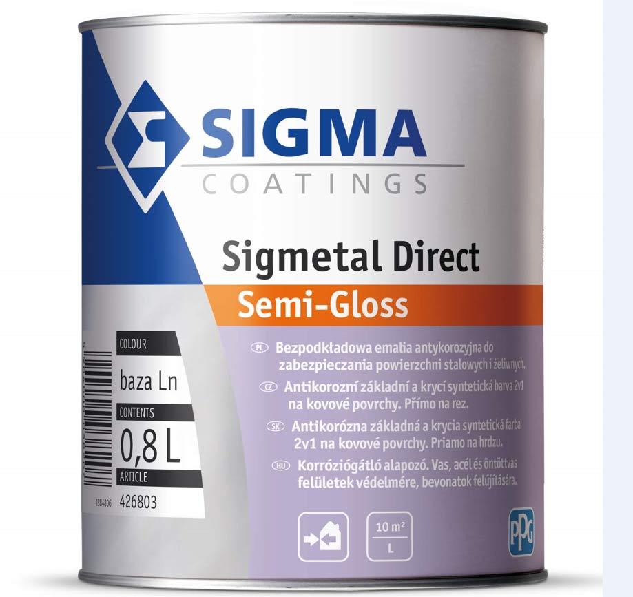 Sigmetal Direct – strażnik ochrony stali przed korozją