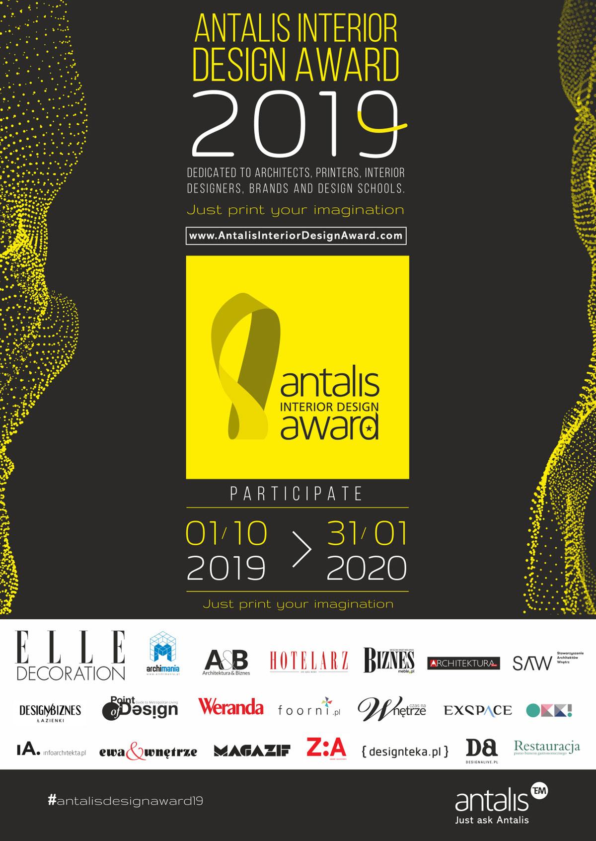 Konkurs ANTALIS INETRIOR DESIGN AWARD