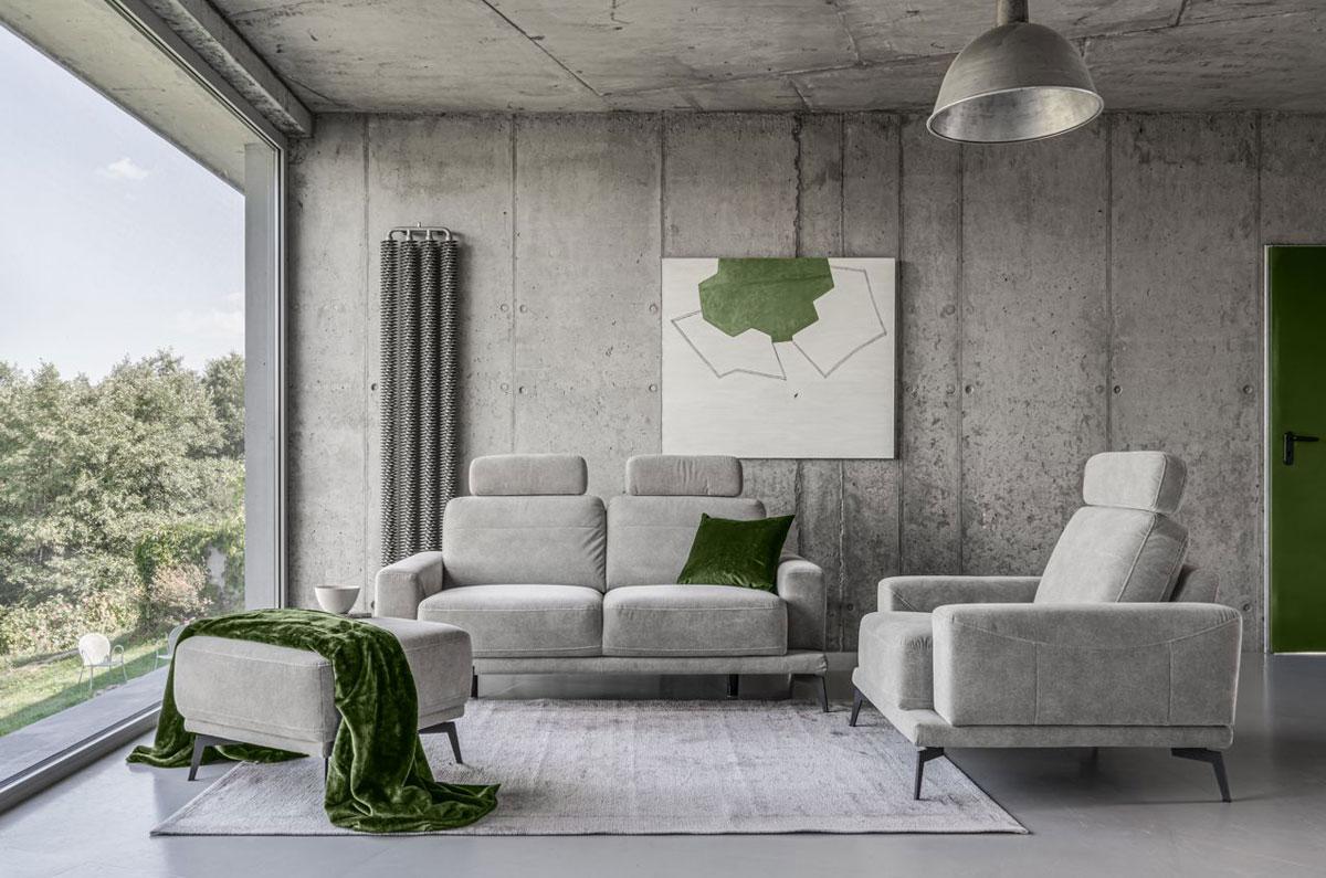 Klasyczny duet – sofa i fotel