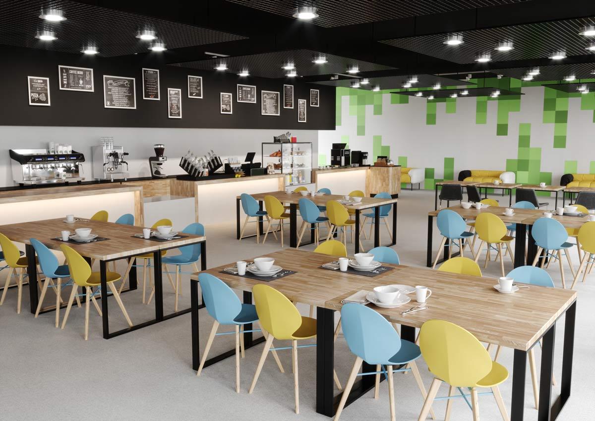 Jak urządzić nowoczesną kantynę i kawiarnię?