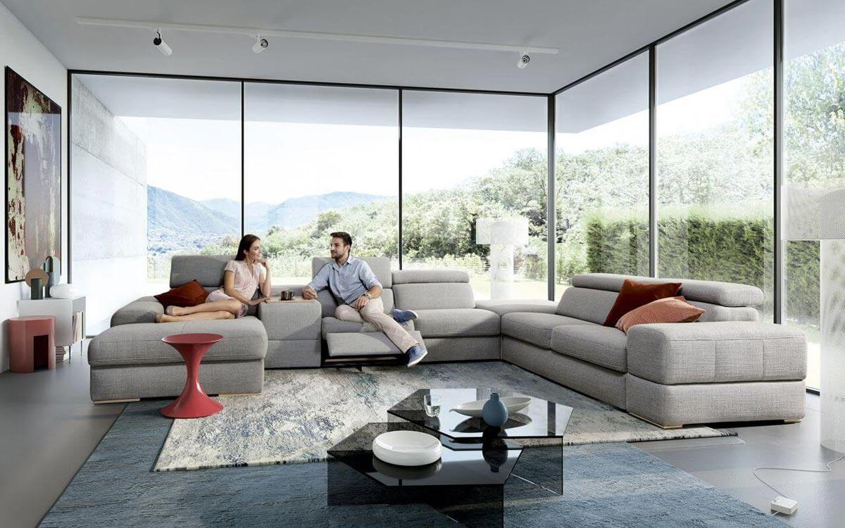 sofy z funkcją relaksu