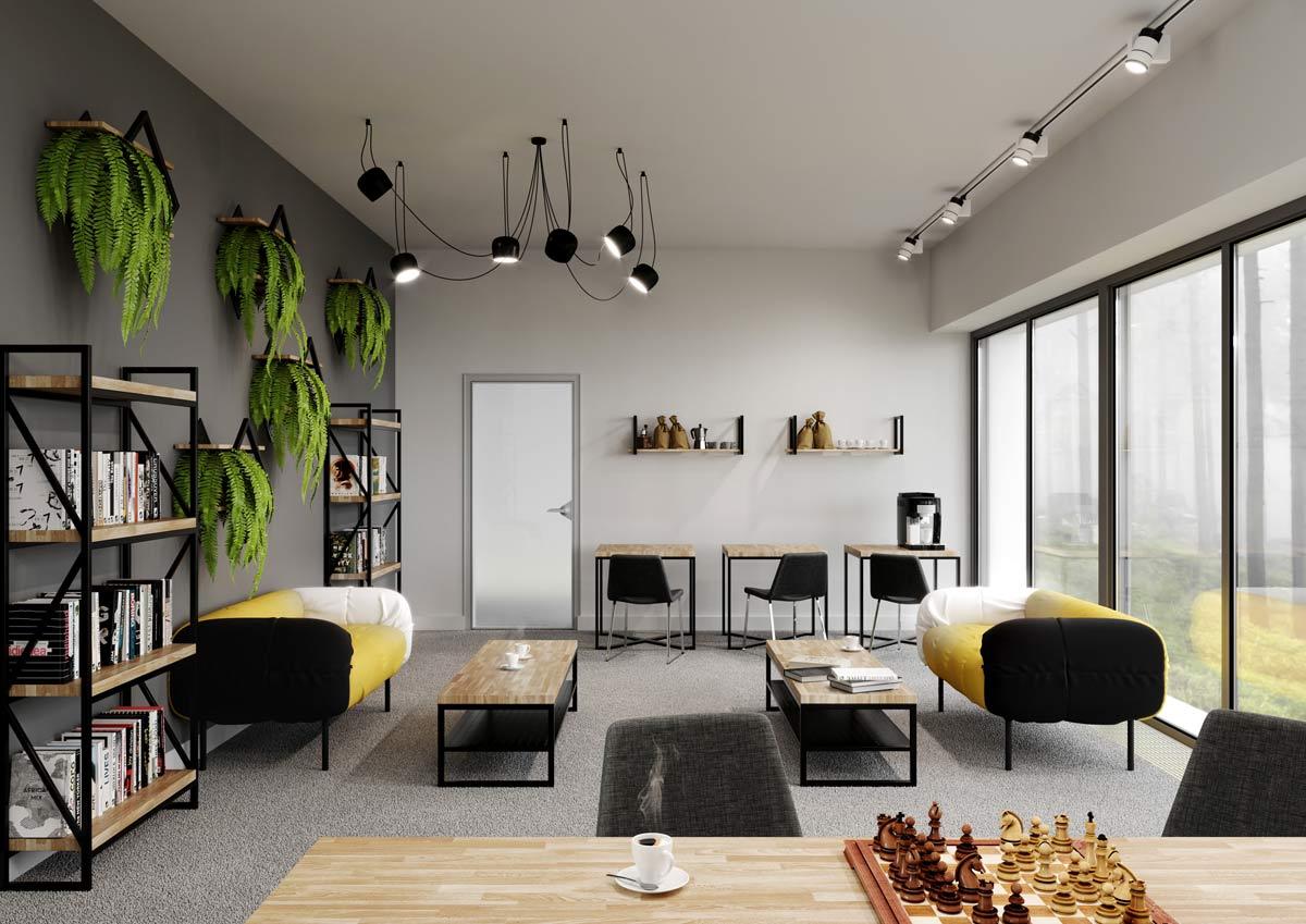 Pokój kreatywny w firmie