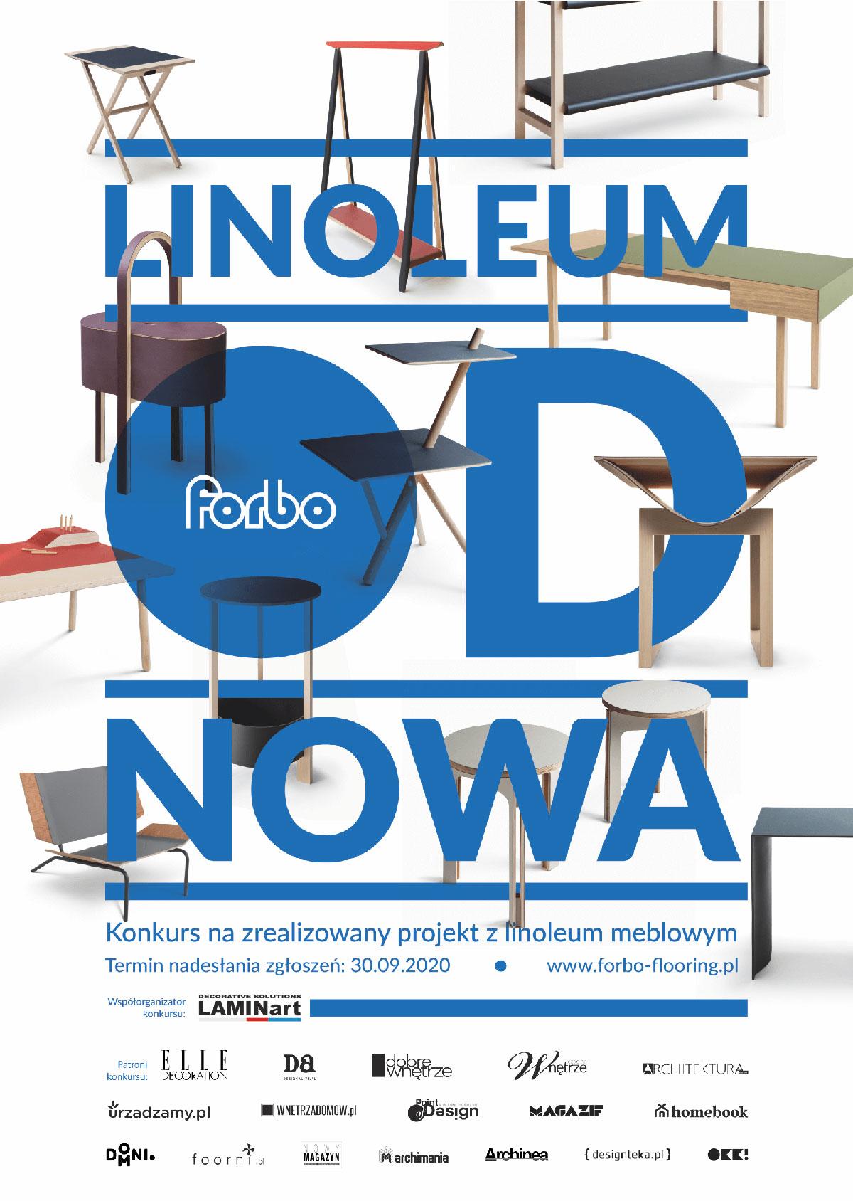 konkurs Linoleum od nowa