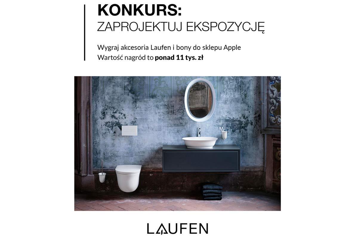Konkurs - zaprojektuj boks ekspozycyjny Laufen w swoim salonie!