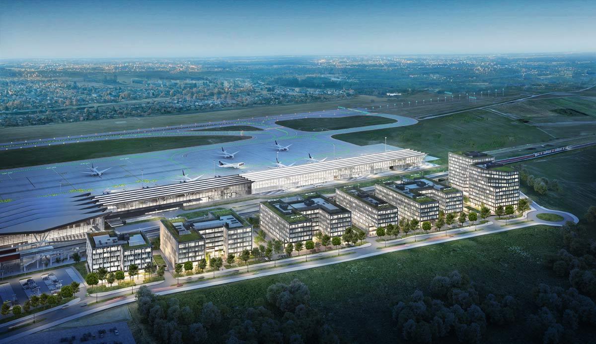 MVGM zarządza Airport City w Gdańsku
