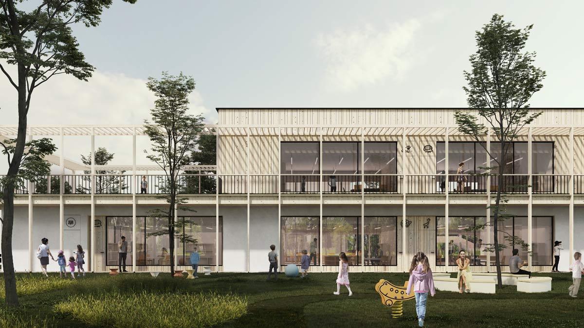 Energoefektywny i proekologiczny budynek przedszkola