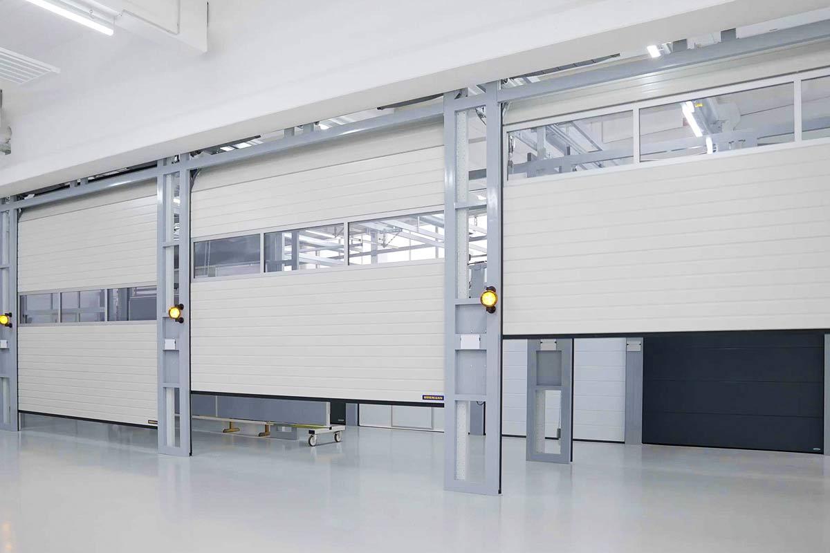 Bramy serii 60 firmy Hörmann: prędkość otwierania do 1 m/s