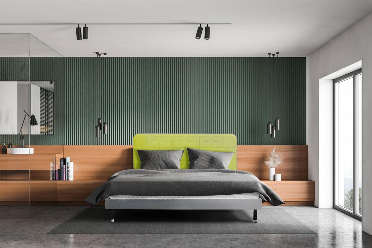 nowoczesne łóżka tapicerowane Bovelli
